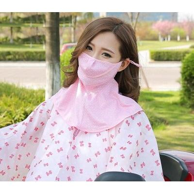 韓國 NASKA 三層長版高爾夫口罩UV 防紫外線防曬口罩面罩萬能