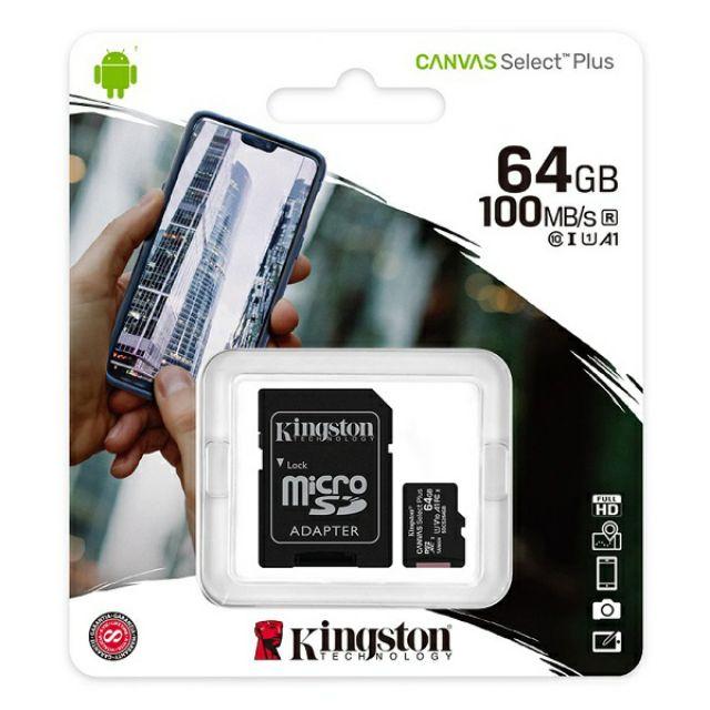 Kingston Micro SDXC 64g 記憶卡