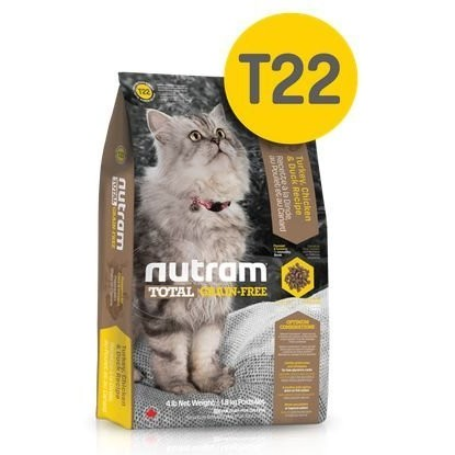 ~COOL PET ~加拿大Nutram 紐頓無穀貓糧T22 火雞肉/1kg /全貓齡皆可