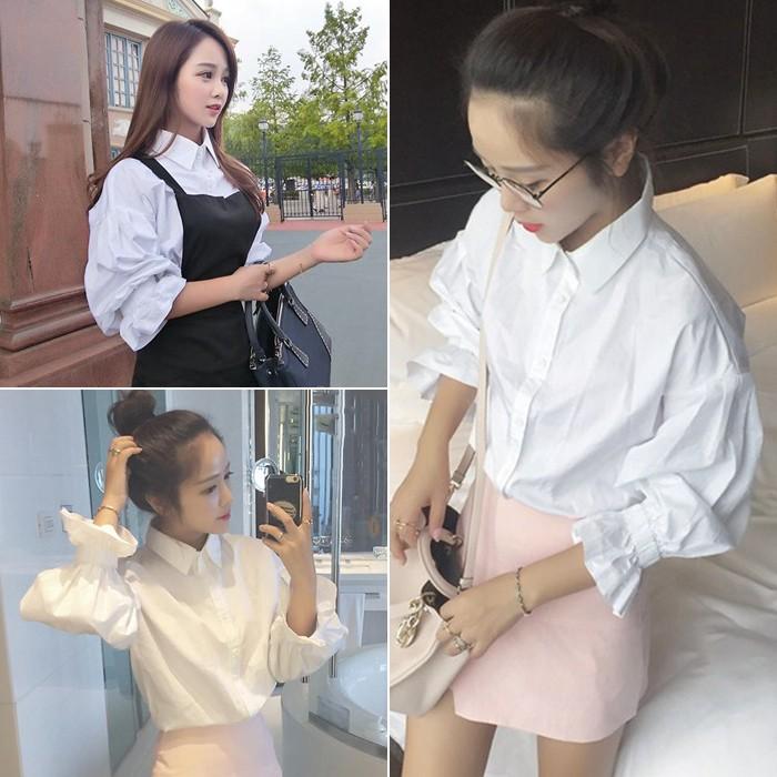 泡泡袖襯衫(EA 6870 )