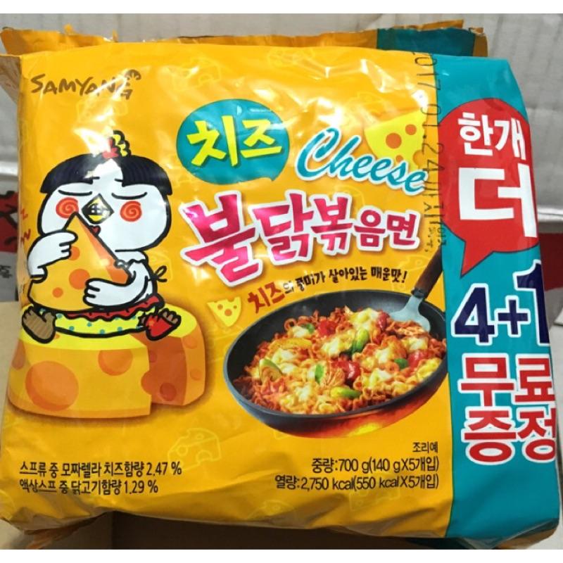 韓國三養火辣雞起士風味炒麵新包裝中時辣泡麵評比NO 1 中 剛到台