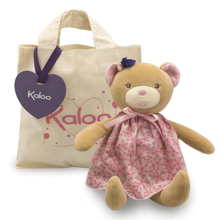 【Kaloo】法國品牌 安撫娃娃 粉紅提袋熊 Petite Rose