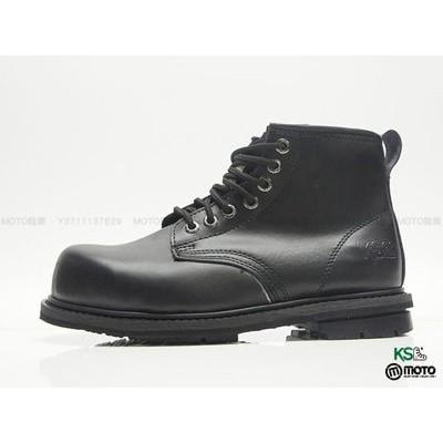 KS 宏群男靴固特異高筒鋼頭安全鞋工作鞋寬楦頭L 級輕工業黑~TU601A01 ~