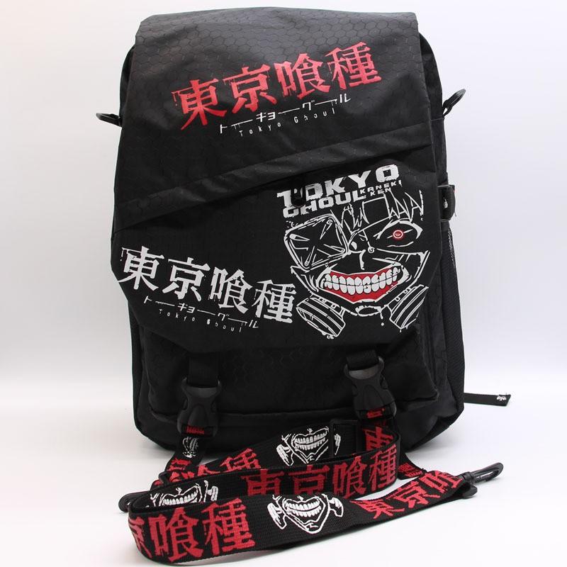 東京食尸鬼喰種動漫書包雙肩背包女包男包斜挎包手提動漫周邊 包肩背包後背手提包手機包單肩包雙