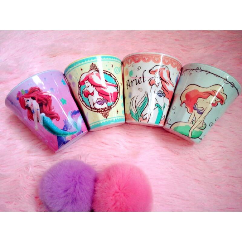 迪士尼系列白雪公主美人魚愛麗絲長髮公主灰姑娘水杯杯子果汁杯漱口杯