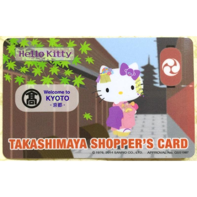京都高島屋Hello Kitty 卡