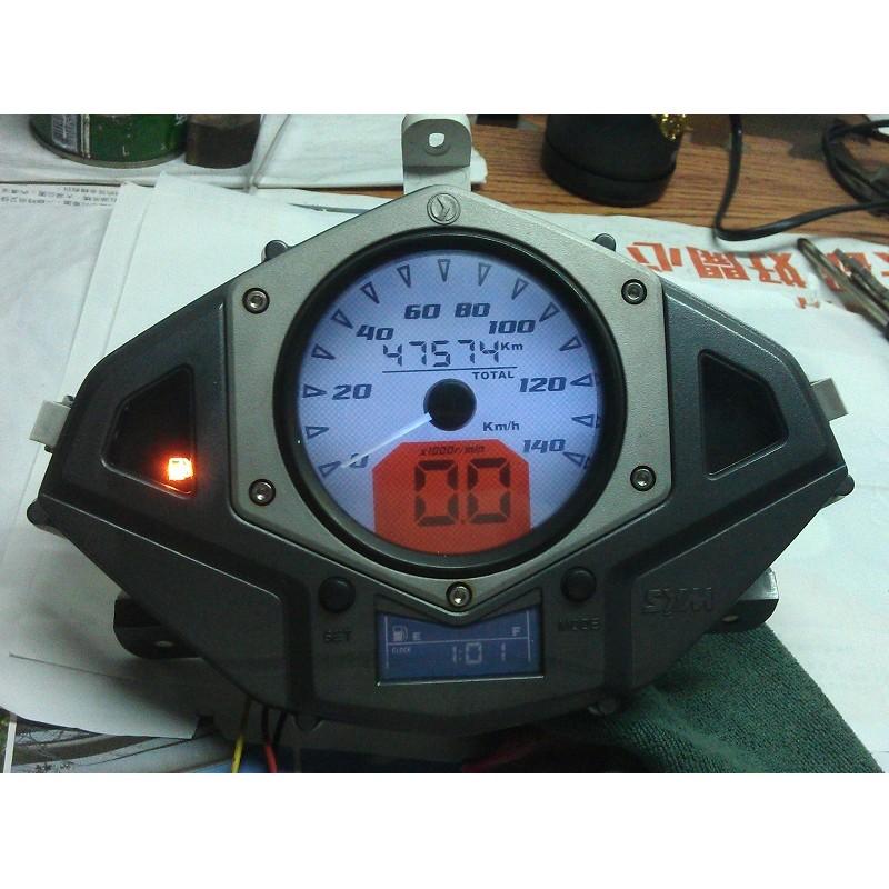 三陽sym new fighter 液晶儀表的偏光膜,淡化DIY 自行更換