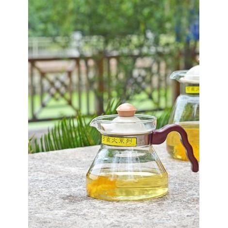 晴天咖啡☼可直火FH 001 耐熱玻璃壺400ml 花茶壺咖啡壺泡茶壺快煮壺保溫壺瓦斯爐燒