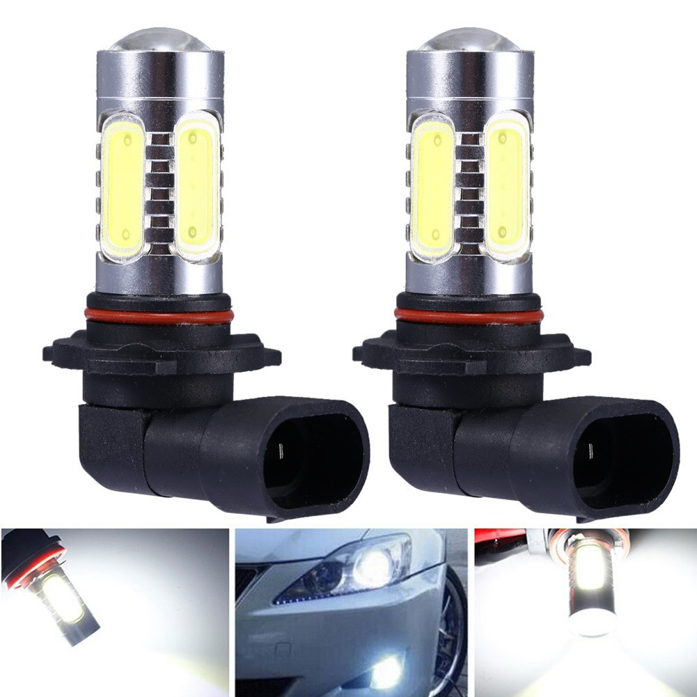 LED 燈泡汽車自動光源投影機DRL 駕駛霧大燈