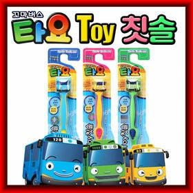 mom 韓國 TAYO 小巴士兒童牙刷寶寶牙刷