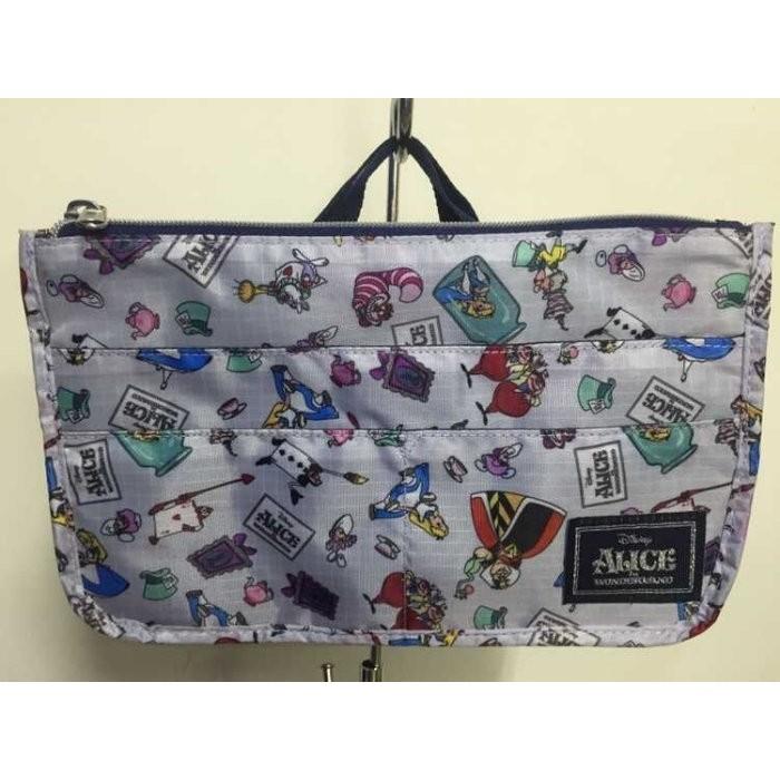 ~Juicy ~ Disney 迪士尼愛麗絲夢遊仙境alice 兔子袋中袋包中包小拎包手提