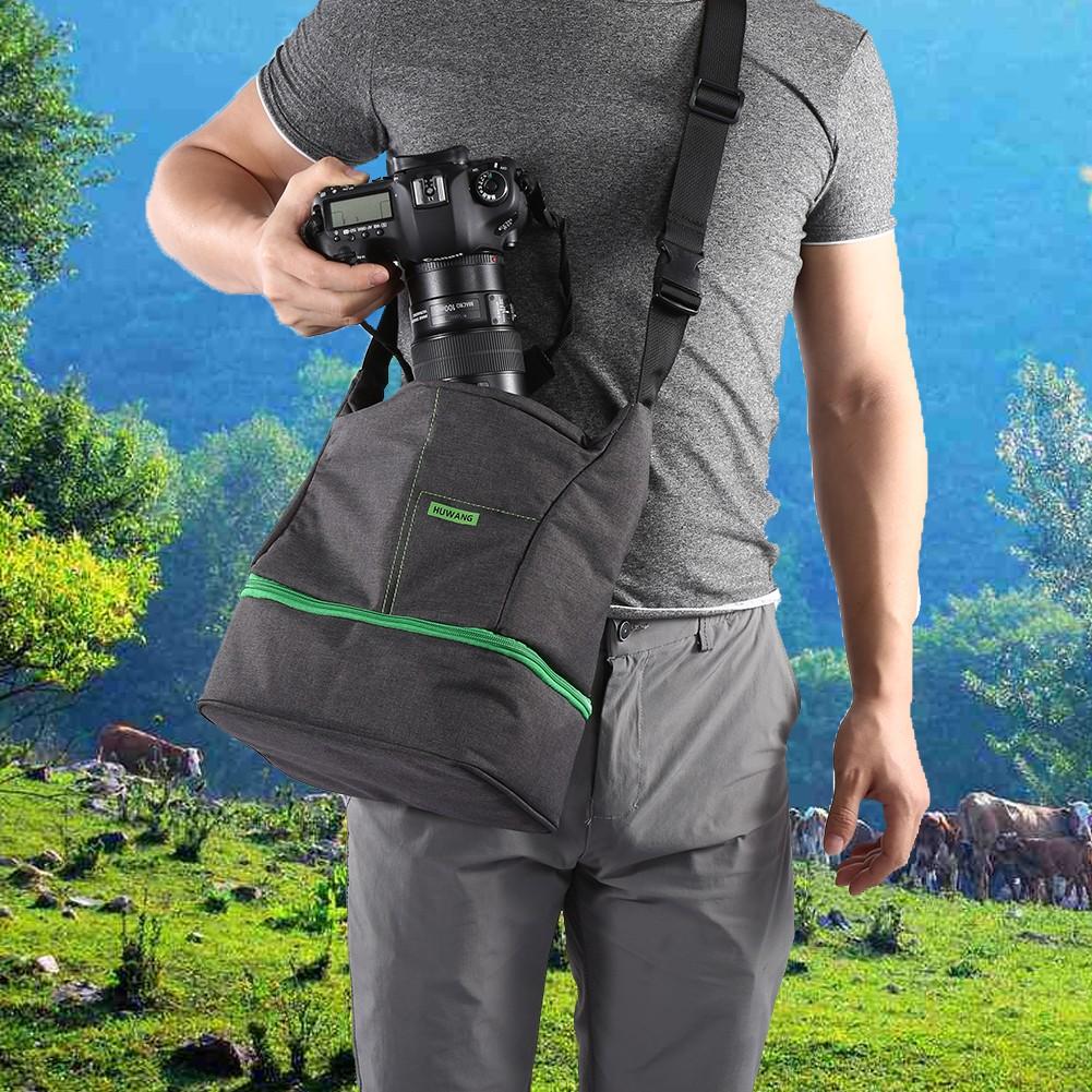 胡王攝影包攝像器收納包單肩斜撐防水防震 尼康單反相機包