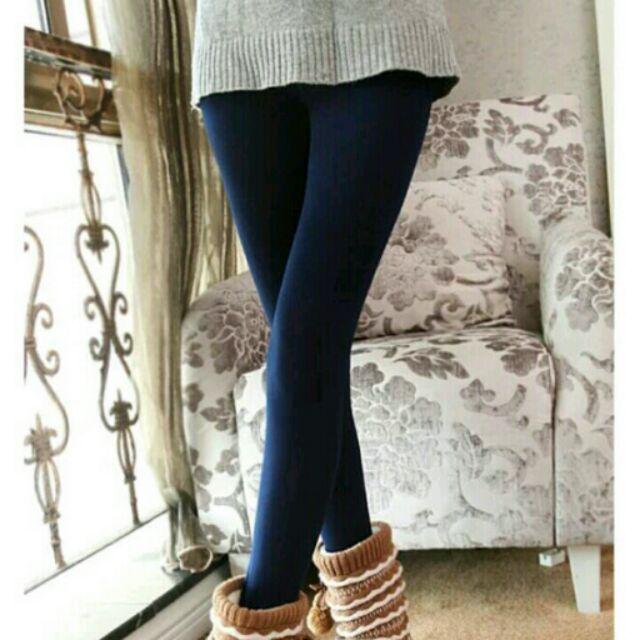 製衝 ~ 工廠直銷 修身純棉加厚刷毛小腳內搭褲顯瘦細絨毛保暖褲小腳褲窄版鉛筆褲九分包腳褲襪