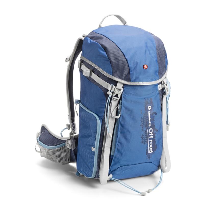 Manfrotto 越野登山系列雙肩後背包藍色正品