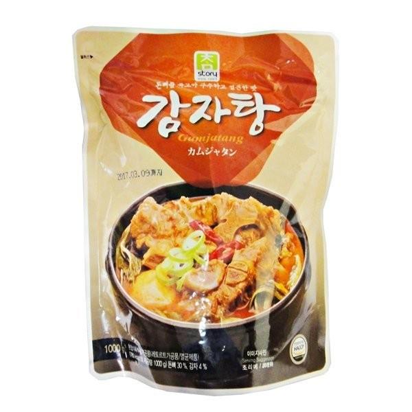 韓國真韓馬鈴薯排骨湯即食調理包1000g 韓國時下當紅最夯的營養湯品史迪夫量販
