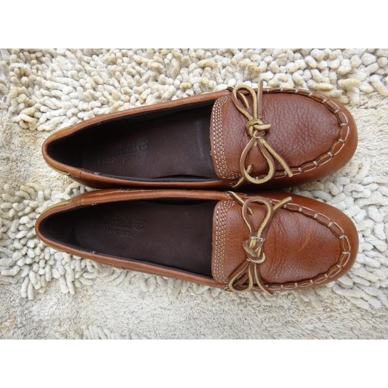 正品Timberland 真皮帆船鞋Size US9 5 皮革 棒高雅休閒輕鬆舒適