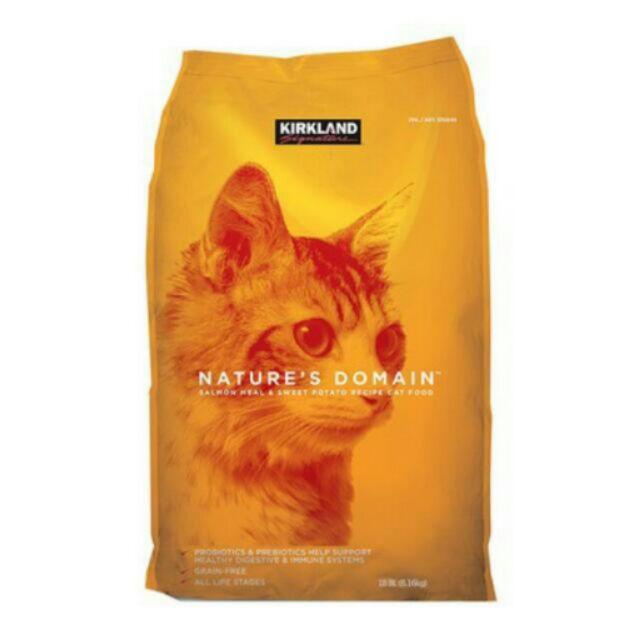 [賦格曲十三]COSTCO 好市多橘包貓飼料鮭魚和甘薯~無穀配方~橘包~永和可 配送