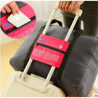 ~HeyHeyshopee ~防潑水折疊式拉桿手提袋行李袋行李箱旅行袋收納折疊收納大容量行