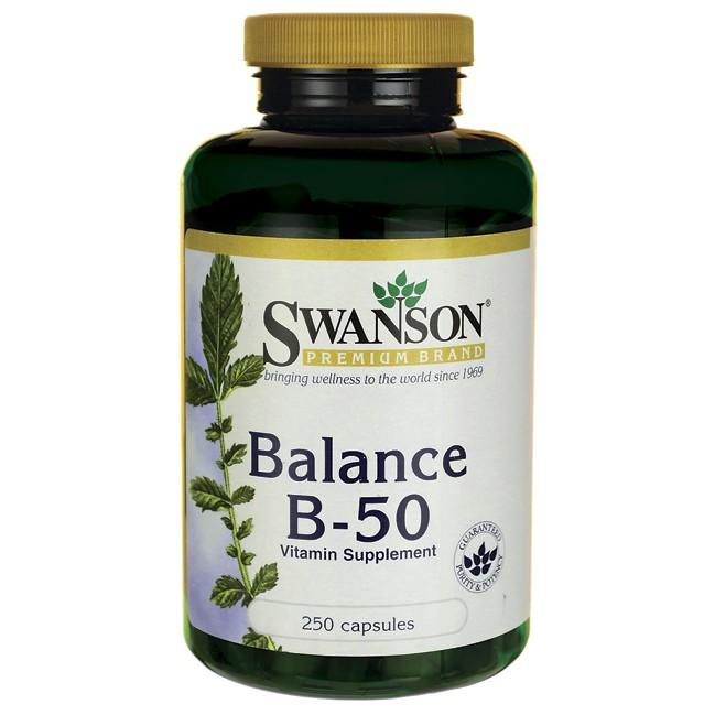 1 瓶SWANSON Balance B 50 維他命B 群250 顆