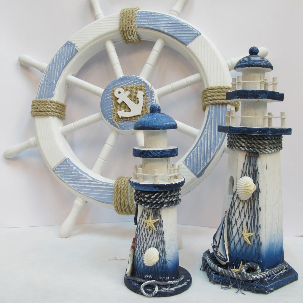 ~樂提小舖~06035 燈塔 3 尺寸海島風飾品海洋風飾品水手風海洋風壁飾民宿擺飾水手風佈
