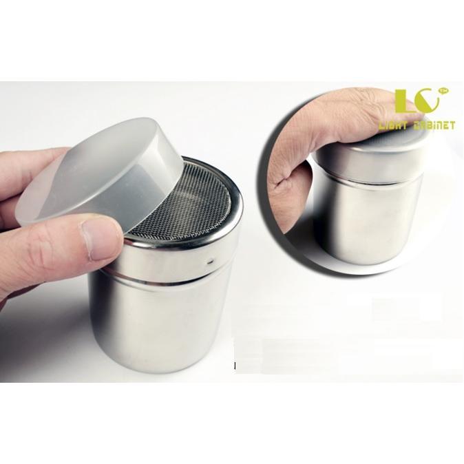 GD 小鋪不鏽鋼手粉罐糖粉罐粉篩罐花式咖啡器具