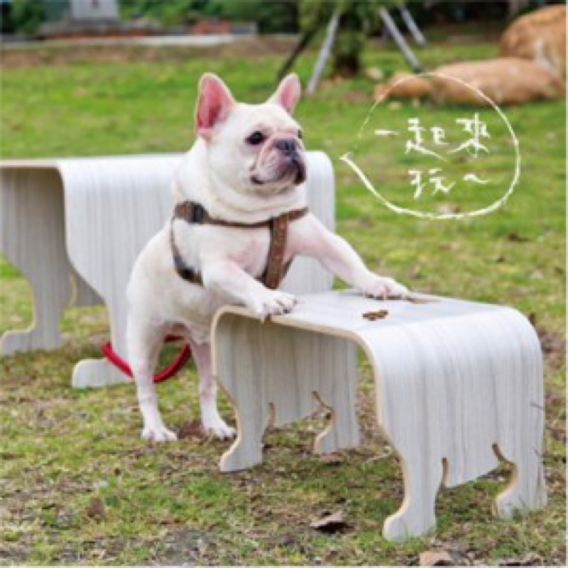 亞提斯FADOU 法鬥寶貝椅凳(胡桃PVC 耐刮 )1 入
