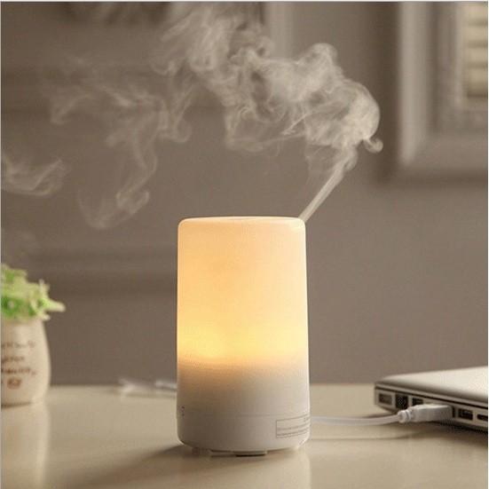 超聲波納米靜音香氛水氧機加濕器LED 小夜燈香薰機香薰燈精油機水氧機擴香機熏香非無印良品M