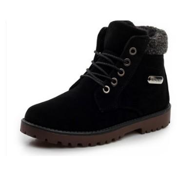 男鞋英倫 雪地靴男冬鞋保暖加絨男士棉鞋潮流短靴男馬丁鞋