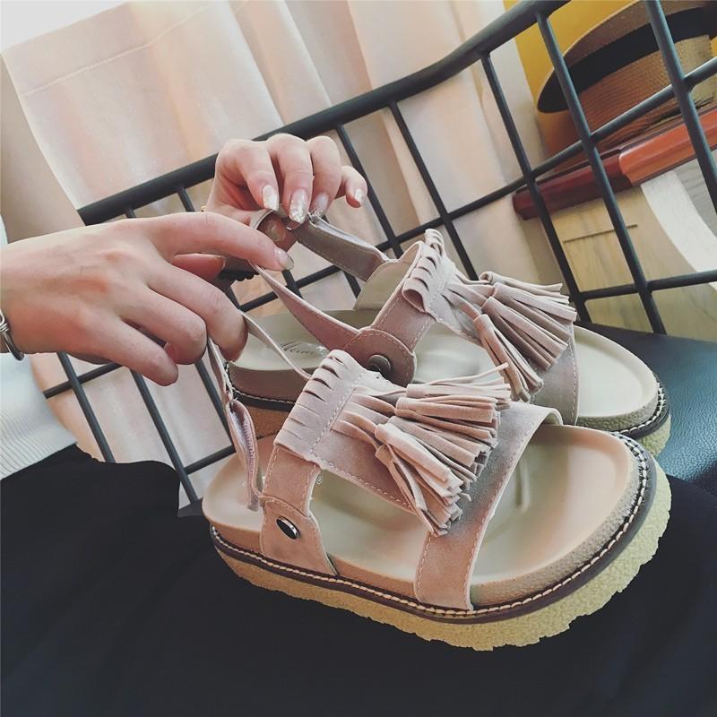 元氣少女美搭丶 坡跟鞋高跟鞋尖頭鞋單鞋魚嘴鞋鬆糕鞋厚底鞋平底鞋休閒鞋沙灘鞋拖鞋休閒涼鞋豆豆