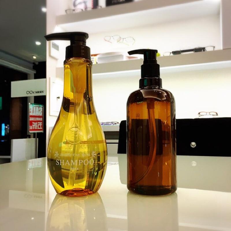 POLA aroma ess gold 洗髮精潤絲精沐浴精500ml 分裝瓶JAPAN