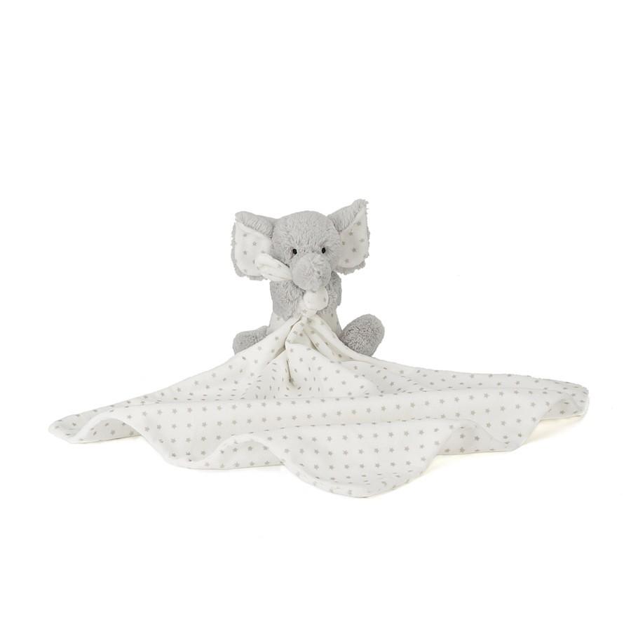 英國嬰幼兒第一品牌JELLYCAT 全品項 安撫巾-可愛點點小象寶寶新生兒嬰兒彌月禮觸感柔