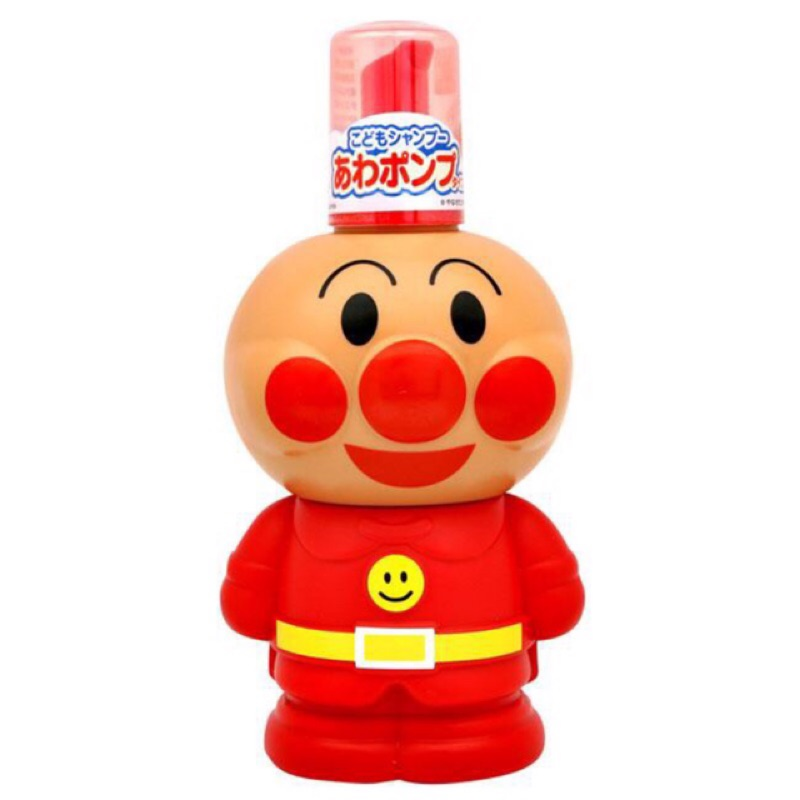 BANDAI 1 麵包超人兒童泡沫洗髮精(250ml )