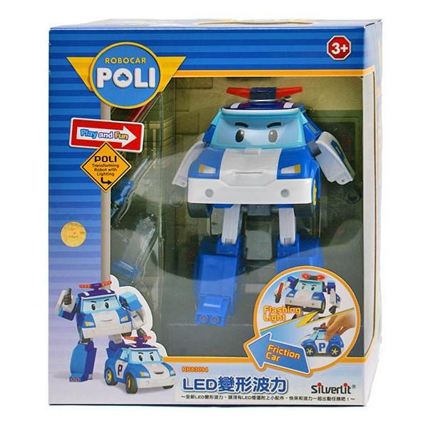 伯寶行代理 5 吋LED 變形波力ROBOCAR POLI 波力救援小英雄←LED 系列附