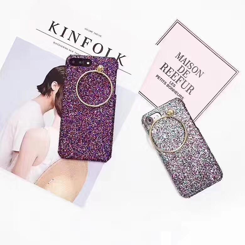 韓風奢華彩色亮片iphone OPPO 美圖手機殼i7 6S R9 R9S plus M6