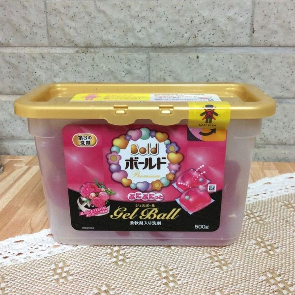 P G ARIEL GEL BALL 3D 洗衣膠球洗衣球自然花香盒裝500g 20 個入