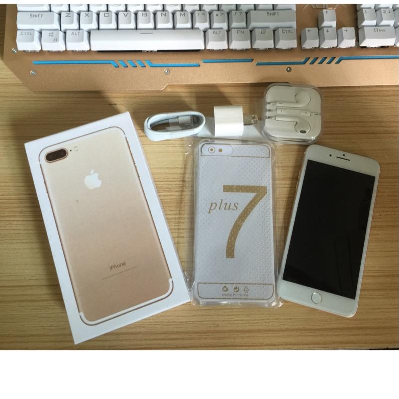 新iphone7 plus 智慧手機觸控home 按鍵iOS 操作介面全配加送保護殼保護貼
