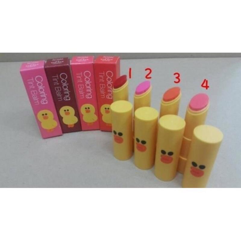 韓國 ~MISSHA x LINE 聯名款莎莉潤色護唇膏~容量:4g 產地:韓國Grace