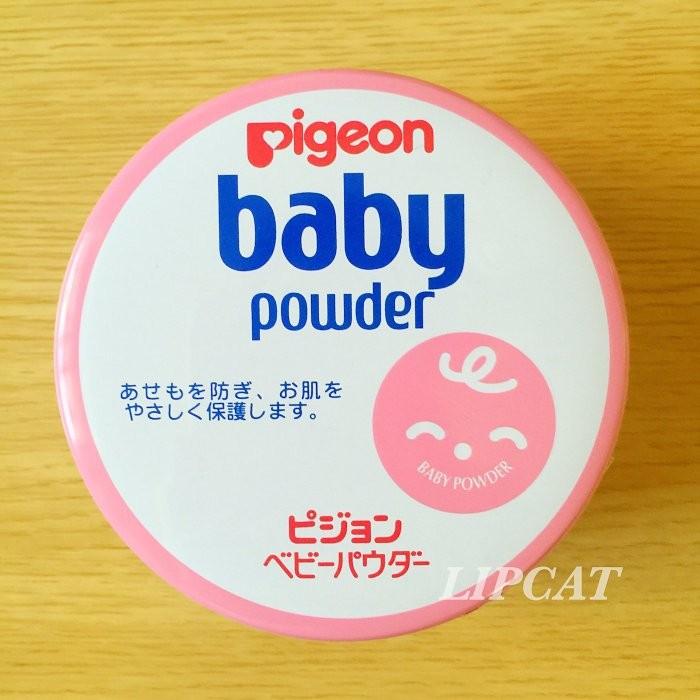 LIPCAT Pigeon 貝親品牌 嬰兒爽身粉微香款痱子粉150g 製Baby Powd