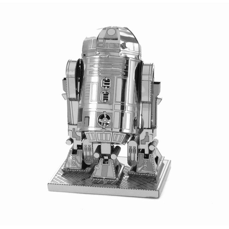 ~哇樂趣~金屬立體拼圖R2D2 機器人 益智玩具趣味 正品藝術掛件擺設星球大戰
