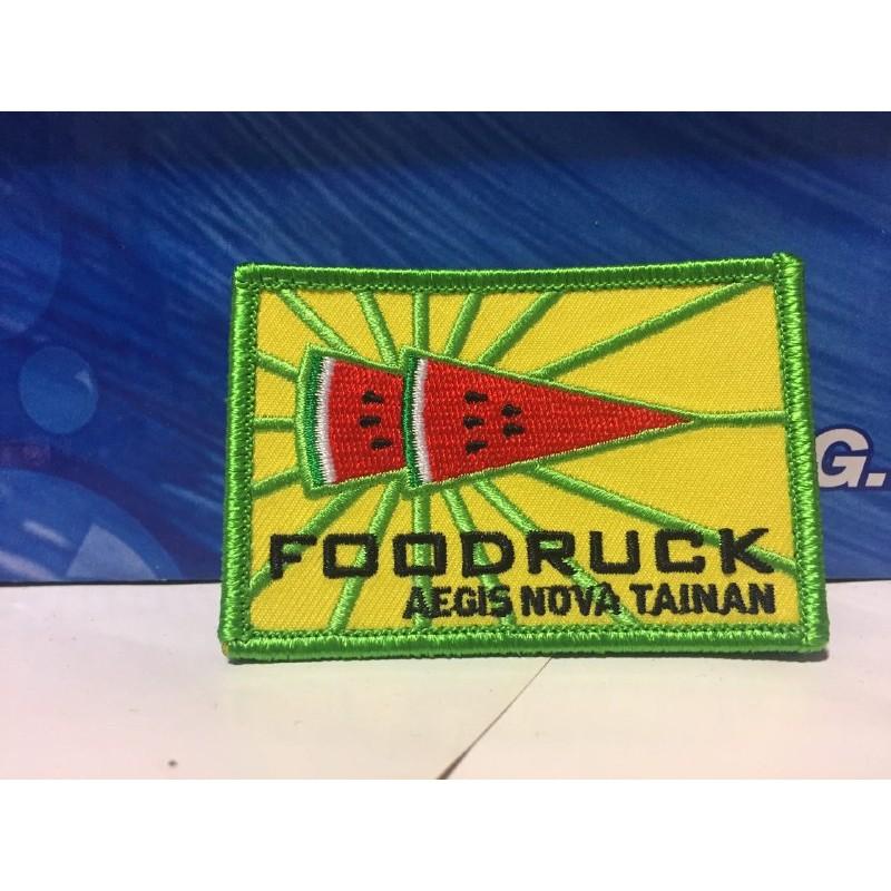 foodruck AEGIS NOVA 西瓜布章Ingress 遊戲週邊