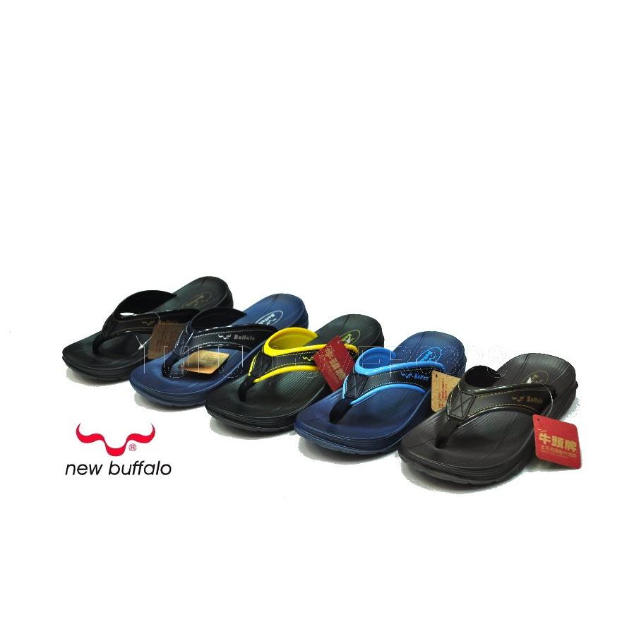 百分百SHOES BUFFALO MIT 牛頭牌拿撒勒人字夾腳拖鞋防水 拖鞋請先  款只有