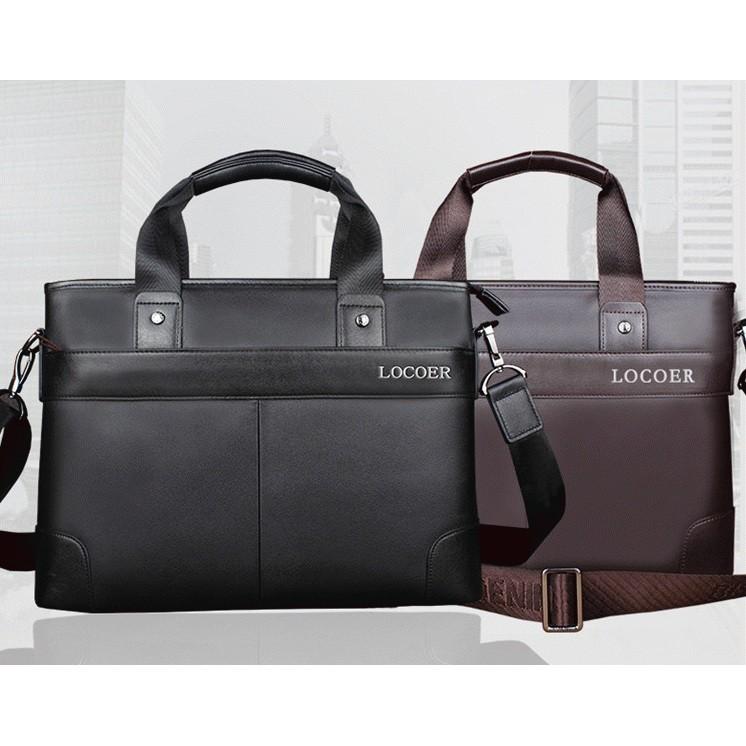 男士大容量公文包手提包商務電腦包工作公事包單肩業務包牛津包 潮帆布 包包 英倫風高端手提包