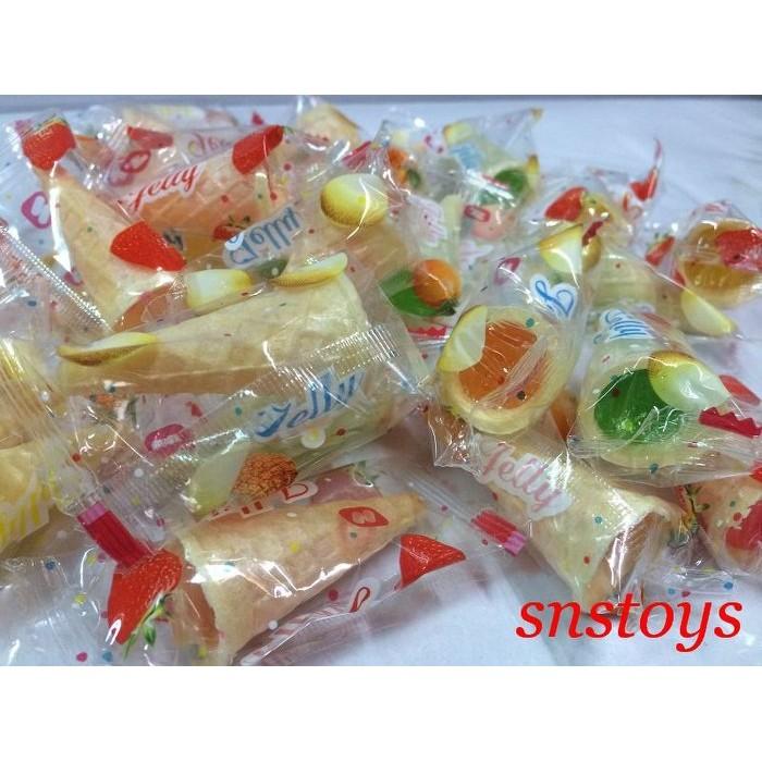 sns 古早味QQ 糖散裝糖果甜筒軟糖甜筒QQ 軟糖甜筒QQ 軟糖400 公克約50 顆