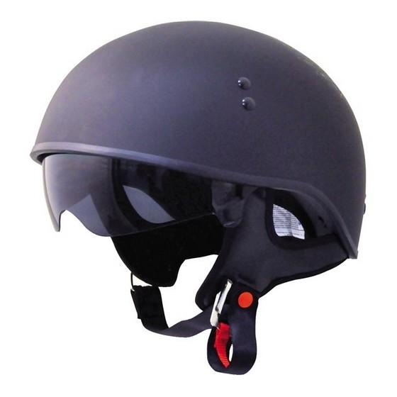 ~安全帽先生~美國TORC T55 素色消光黑哈雷半罩安全帽內遮陽片買就送好禮