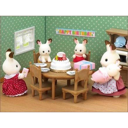 12076000 森林家族牛奶兔慶生組森林家族動物玩偶家家酒孩子玩伴