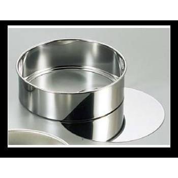 QueenRose 霜鳥不鏽鋼圓型蛋糕模型15 5 公分NO143 可活動分離脫模~烘培樂