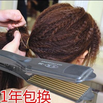 發廊 調溫電夾板玉米燙波浪玉米夾蓬松玉米須直發器直板夾