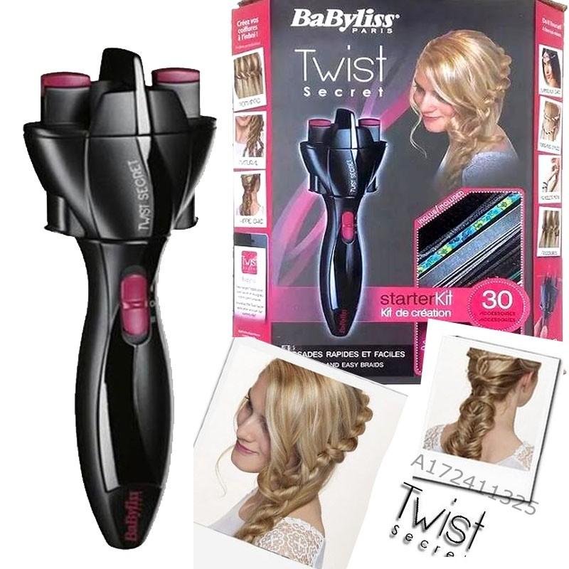 BaByliss Twist Secret 馬尾自動編髮器自動捲髮器,編馬尾