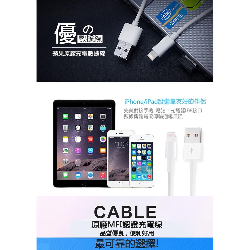 1M MFI 晶片Apple iPhone 6S 6 plus 5S 5 傳輸線充電線US