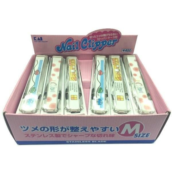 KAI 貝印指甲剪指甲剪刀指甲刀M 號 製超取~抹香鯨美妝~